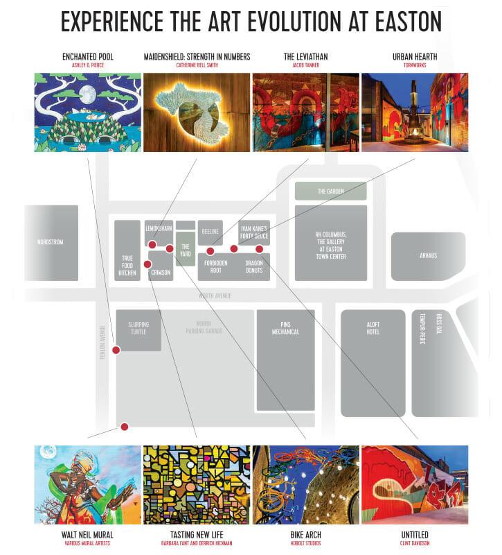 Easton Art Map