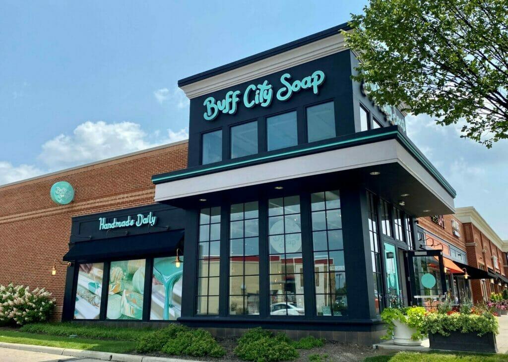 Exterior of Buff City Soap