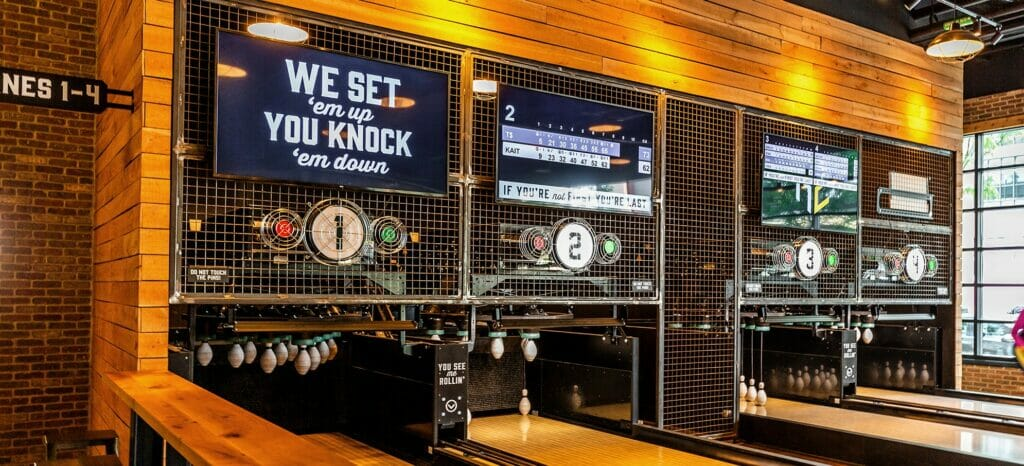 Duckpin Bowling Allies at Pins Mechanical Co.