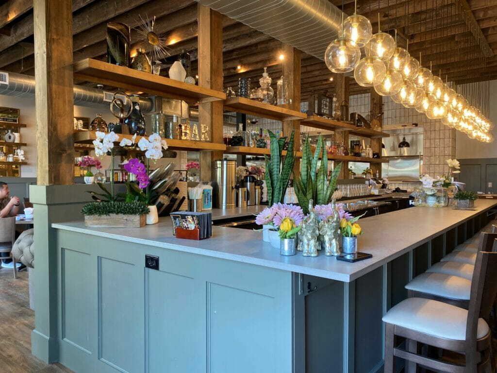 Interior of the bar at Pho Social