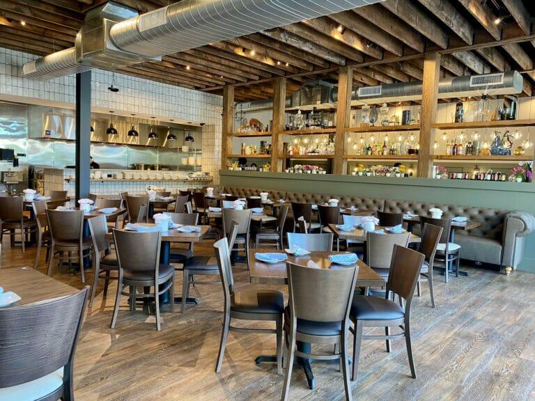 Interior of Pho Social dining room