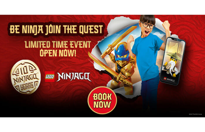 Be A Ninja, Join the Quest. Limited Time Event Open Now at LEGOLAND Discovery Center Columbus. Book Now!